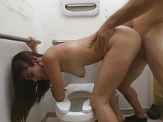 A sexy latina stewardess and her latina pussy