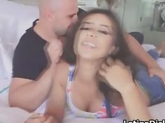 Mindblowing Latina loves BFs big dick