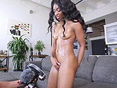 Naughty black newcomer