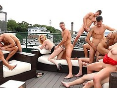 Hot Outdoor Bisex Fucking
