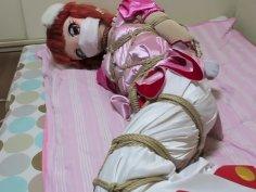 cocoasoft japanese bondage breathplay kigurumi bondage wsm_lione_tied_body