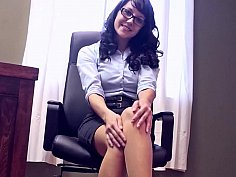 Glasses, dildos and nylons