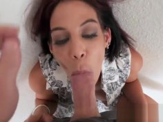 Ryder Skye getting her throat fucked and filled with jizz