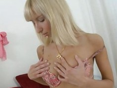 Teen Constance asshole wrecked with big cock and a dildo