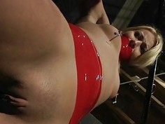 Disobedient Slave Submitted To Bondage Rough Punis