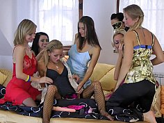 Wild orgy - girls only