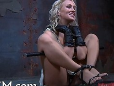 Wet from salacious torture