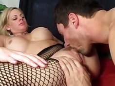 MILF loves to give rimjobs
