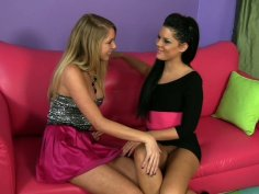 Two sexy bitches Brynn Tyler and Madison Parker play their dirty games