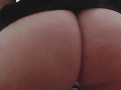 Close up ass in hot stockings exclusive show