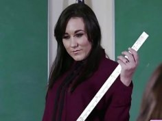 Sinn Sage and Charlotte shows Jade the rules at the reform school