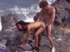 Betty & Lulu DP Orgy in Vulcano Land
