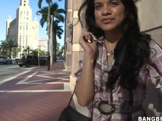 Ayana is the next girl of our professional pick up master