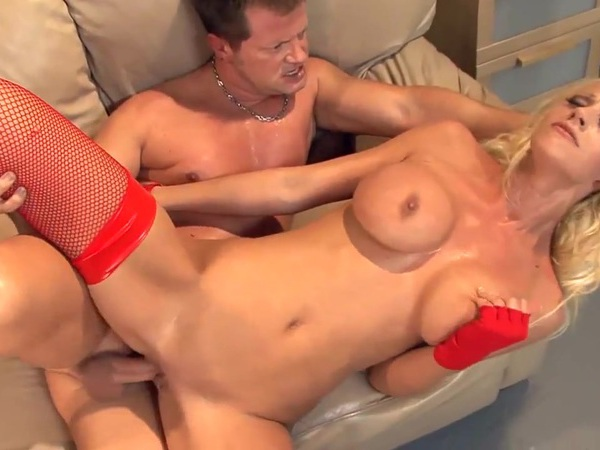 Busty Blonde In Red Panties Fucking This Dude Ultrahorny 1