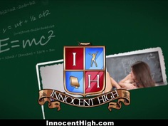 InnocentHigh - Student gets Caught Sucking Dick For Money
