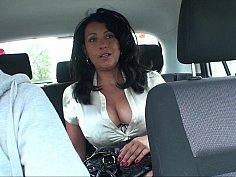 Backseat masturbation