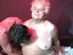 OldNanny Fat Matures threesome sex