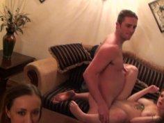 Slutty Jenna J Ross, Jayden Lee, Mariah Mars enjoy pleasing strong cocks